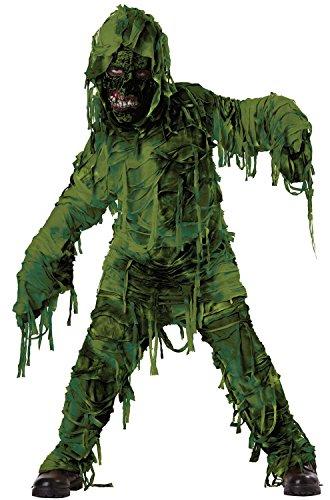 Swamp Monster Costume (Swamp Monster Boy Kid Children Child Halloween Costumes (M))