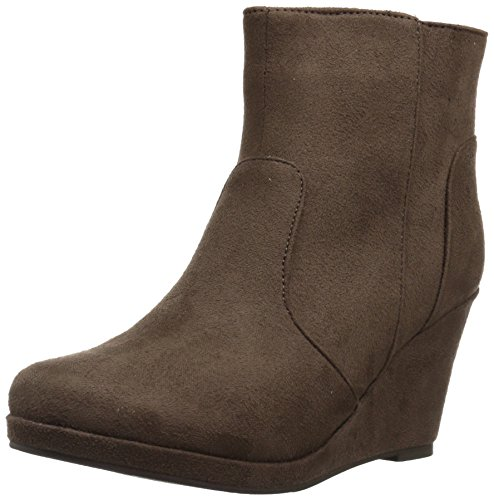 Brinley Co Women's Bear Ankle Boot Taupe AD0doWc7