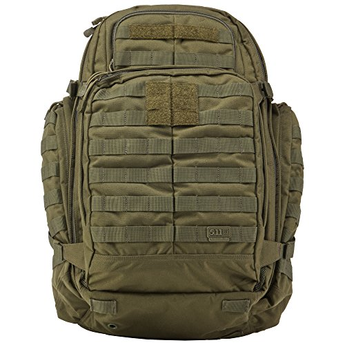 5.11Tactical RUSH72 Military Backpack, Molle Bag Rucksack Pack, 55 Liter Large, Style 58602 ()