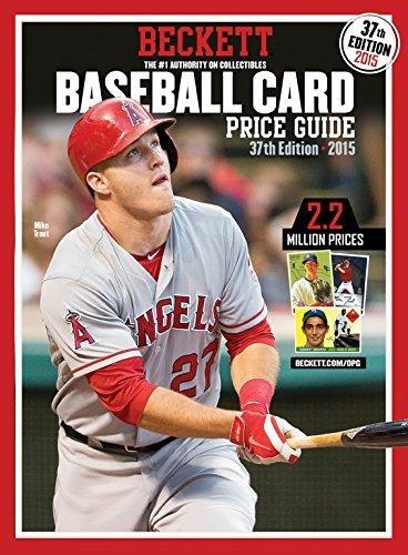 Baseball Card Price Guide (Beckett Baseball Card Price Guide) Paperback February 20, 2015