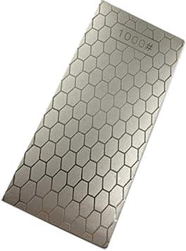 160-600 Diamanti Pietra per affilare Pietra per affilare Pietra per affilare Grit Piastra per affilare i coltelli con tappetino antiscivolo in gomma
