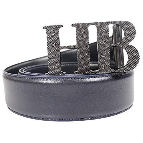 Hugo Boss Balwinno One Size Reversible Black/Navy Belt One Size Navy/Black