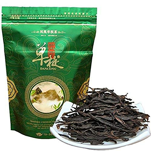 New Spring Grade Phoenix Single Longitudinal Tea, 250g (0.55LB) Oolong Light Fragrance 100% Natural Chinese Tea, Green Food Oolong Tea Green Tea Fenghuang dancong Tea