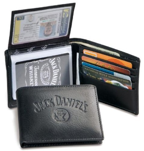Jack Daniel's Signature Collection Black Billfold,