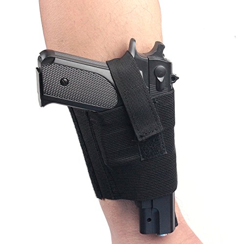 Concealed-Universal-Black-Carry-Ankle-Leg-Pistol-Gun-Holster-LCP-LC9-PF9-Small-for-sig-223-SCCY-9mm
