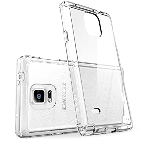 Galaxy Note 4 Case, i-Blason [Scratch Resistant] Halo Series Hybrid Clear Case / Cover with TPU Bumper for Samsung Galaxy Note 4 [SM-N910S / SM-N910C]