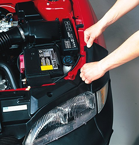 LeBra 551413-01 Each LeBra is specifically designed to your exact vehicle model. If your model has fog lights special air-intakes or even pop-up headlights there is a LeBra for you. Front End Bra LeBra Custom Front End Cover