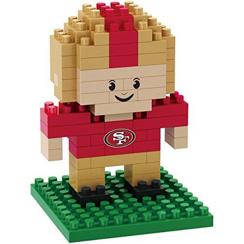 NFL Team BRXLZ 3D Player Puzzle Set (San Francisco 49ers)