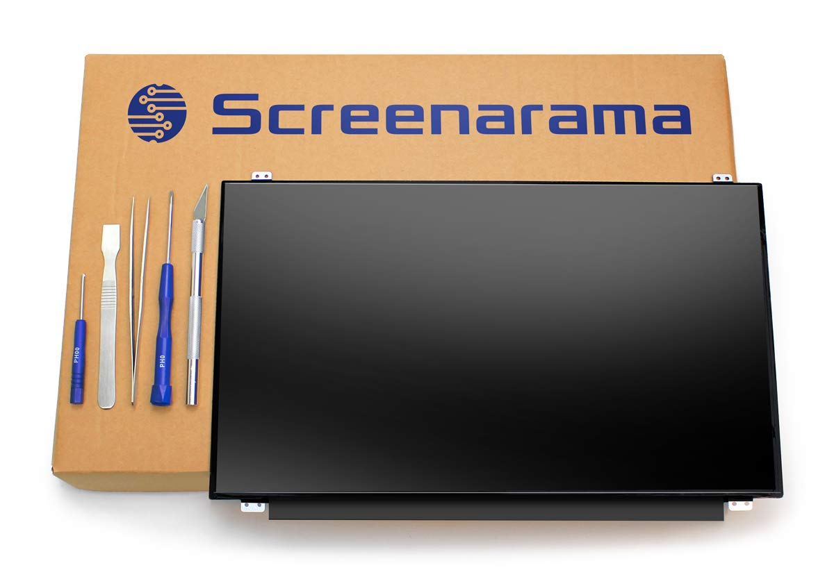 SCREENARAMA New Screen Replacement for N156HHE-GA1 120Hz, FHD 1920x1080, Matte, LCD LED Display with Tools