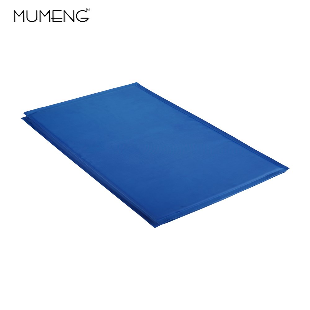 Cool Mats, Cooling Pad for Dogs and Cats - Cool Pet Beds - Chilly Gel Mat for all types of pets, M, L, XL, XXL-blue (XXL--90 105cm)