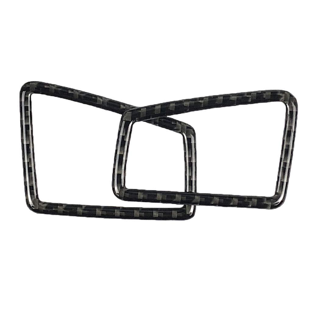 Homyl Carbon Fiber Front Side Air Vent Outlet Trim for BMW E90 E92 Right Driving 7e085a7a9ba76781e555e3e9972fca9d