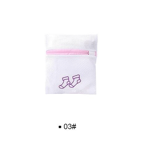 OPUSS 1 bolsa de lavandería con cremallera, bolsa de lavandería plegable, para sujetador,