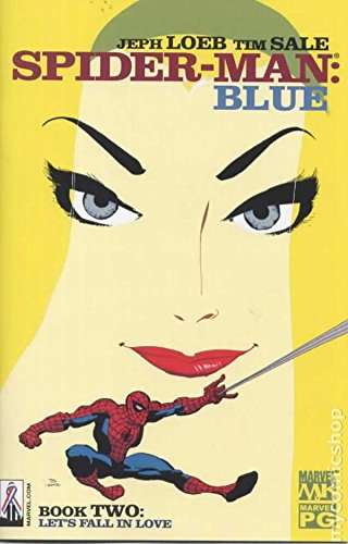 Download Jeph Loeb Tim Sale Spider-man Blue Book Two (LET'S FALL IN LOVE) ebook