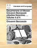 Decamerone Di Messer Giovanni Boccaccio Cittadino Fiorentino, Giovanni Boccaccio, 1140777262