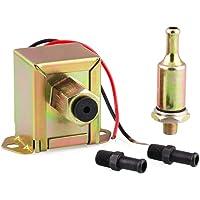 Tickas Universal 12V Bomba de Combustible Transferencia Inline Bomba de Combustible Uniones Filtro Gasolina Diesel