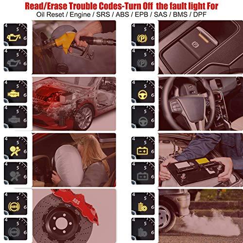 Autel MaxiCheck Pro Diagnostic Tool for ABS Brake Auto Bleed, Oil Service, ABS, SRS, BMS, DPF, EPB Service, SAS, Oil Light/Service Reset Scanner by Autel (Image #1)