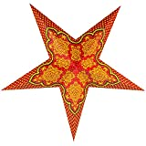 PaperLanternStore.com 24'' Arabian Paper Star Lantern, Hanging Decoration
