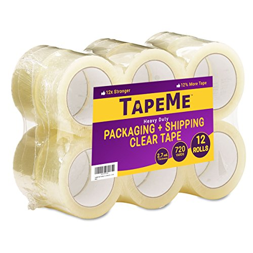 60 Clear Packaging Tape - 4