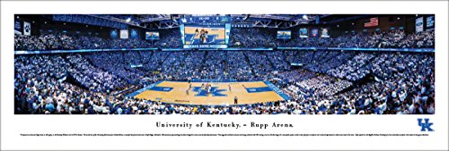 Kentucky Basketball - Rupp Arena - Blakeway Panoramas Unframed College Sports Posters ()