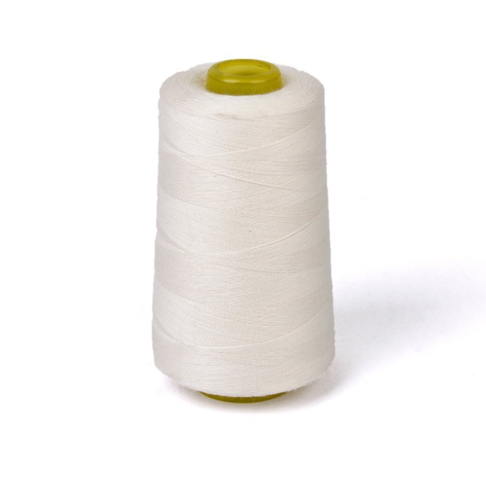 ROSENICE Cotton Sewing Thread Spool Quilting Threads for Sewing Machine 3000 Yards White 4337016680