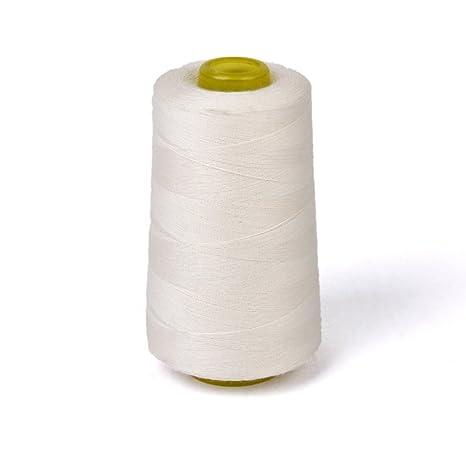 rosenice – Bobina de hilo de coser de algodón para máquina de coser 3000 Verges (