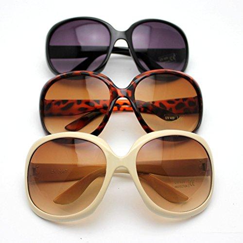 HuaYang Black grenouille lunettes de classique Nouveau femmes soleil arrivé Lunettes de frw6Uf