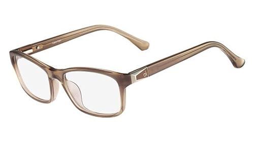Calvin Klein Platinum – CK5861, Rechteckig, Acetat, Damenbrillen, SAND (208 ), 53/17/135