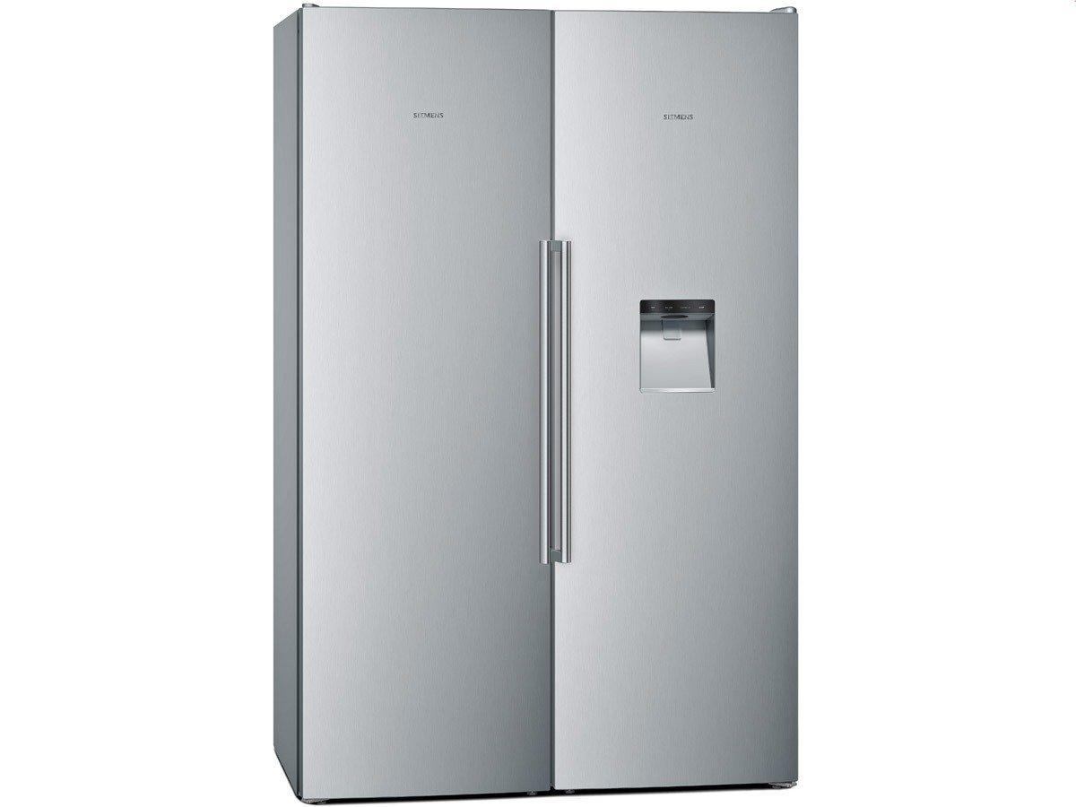Siemens Kühlschrank Rückseite : Siemens ka nai side by side edelstahl nofrost touchcontrol