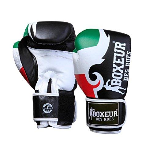Logo Des Con Boxe Boxeur E Tribale Guantone Uomo Stampa Flag Da Fight italy Rues Activewear Hag8qd