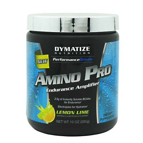 Dymatize Amino Pro Endurance Amplifier, Lemon Lime, 10 Ounces