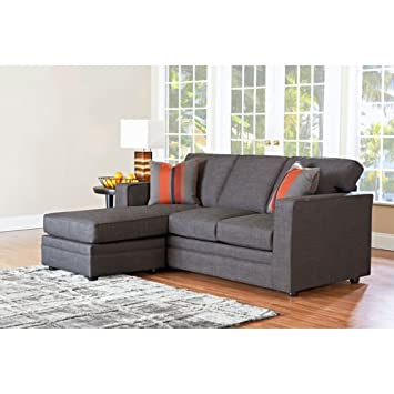 Miraculous Amazon Com Beeson Fabric Queen Sleeper Chaise Sofa Kitchen Ncnpc Chair Design For Home Ncnpcorg