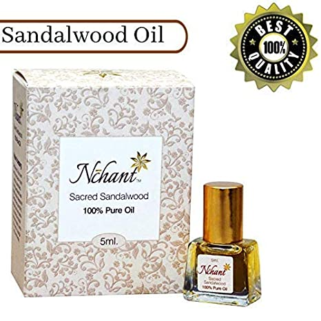 Nchant 100% Pure & Authentic Sandalwood Oil
