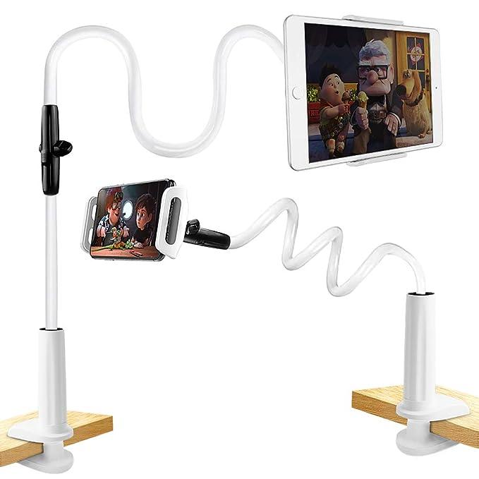 36 opinioni per Supporto Tablet, unibelin Supporto per Cellulari e Tablet 360 Gradi Rotazione