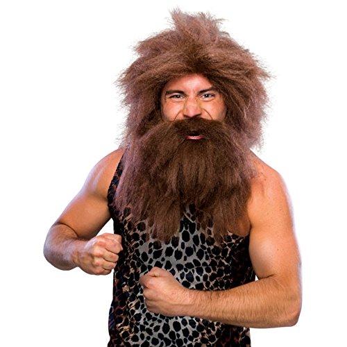 - Caveman Wig And Beard Set