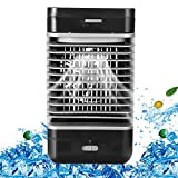 LIANGLIANG Air Conditioner Portable Purifier Humidification Refrigeration Mini Mobile Water-Cooled Air Fan, Voltage 110-230V Power 8W