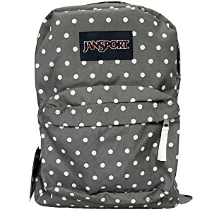 JanSport T501 Superbreak Backpack - Shady Grey / White Dot