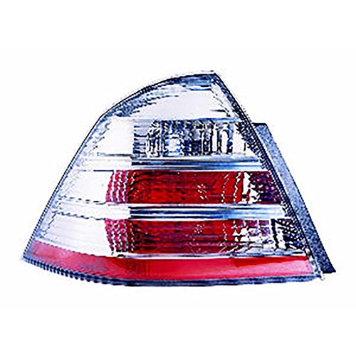 CarLights360: Fits 2008 2009 FORD TAURUS Tail Light Assembly Driver Side - (NSF Certified) Replacement for FO2818127