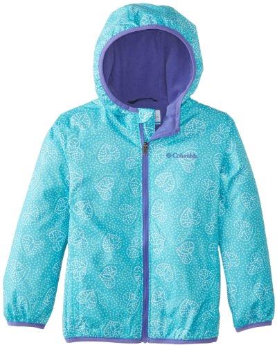 Columbia Girls 2-6X Mini Pixel Grabber Ii Wind Jacket