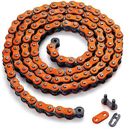Orange JFG RACING Motorrad Drive Kette 520/ x Ring 120-links Schwer Pflicht Racing Kette SX SXF EXC XCF Off Road Dirt Bike