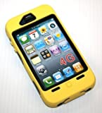 Iphone 4g Super Case - Yellow/black