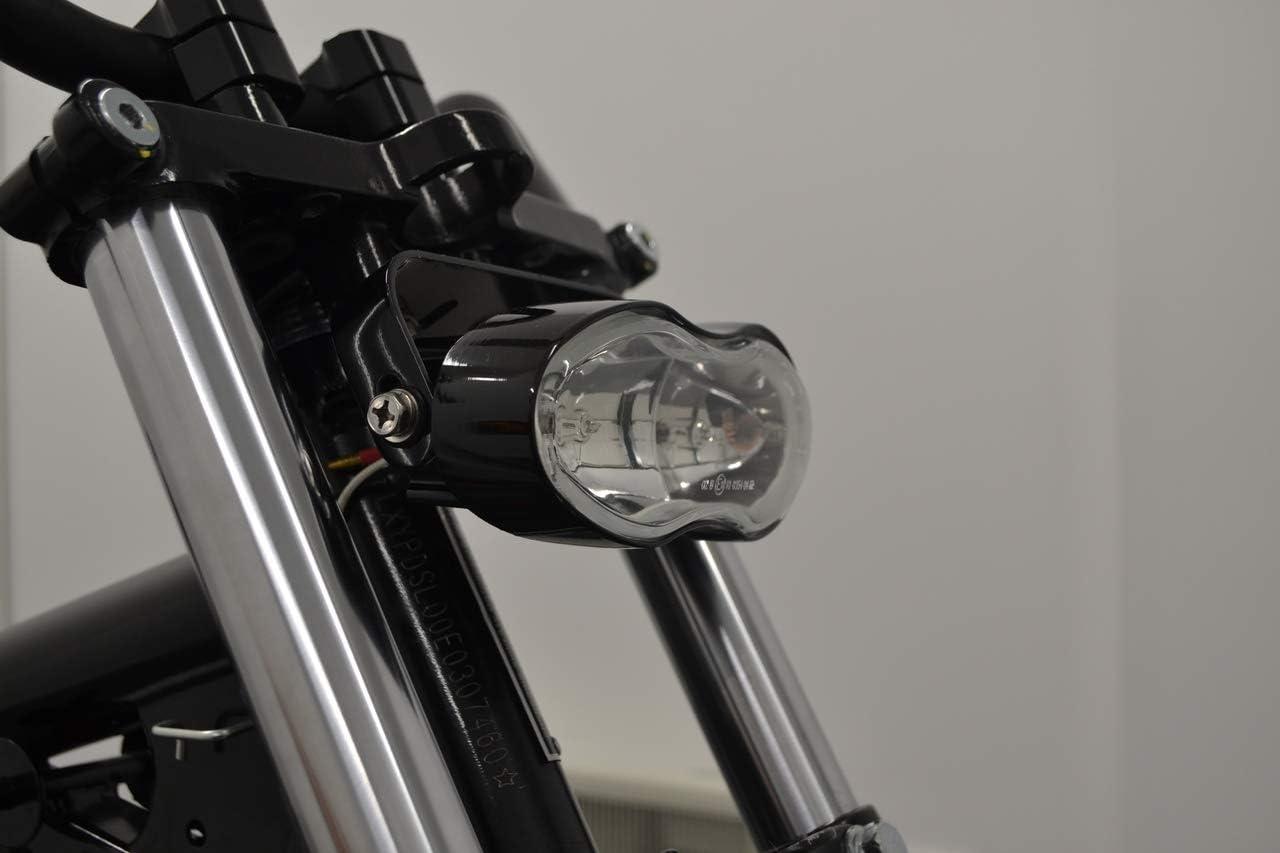 Moto Phare Fox Eye pour Streetfighter Personnalis/é R/étro Projet Haut Qualit/é