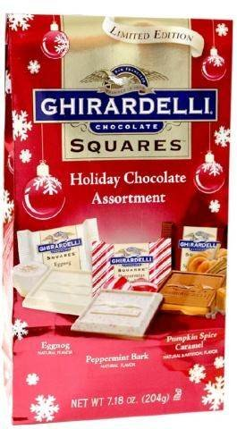 - Ghirardelli Holiday Chocolate Assortment - 4.5 Oz - 4 Bags