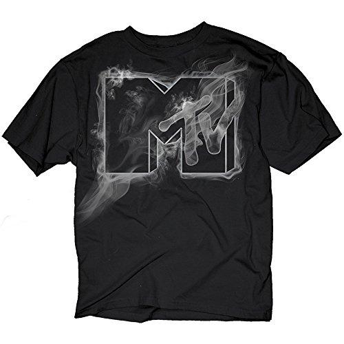 mtv-ghost-smoke-logo-adult-t-shirt-large
