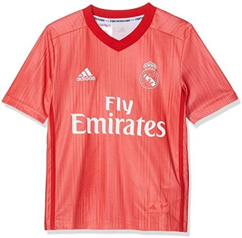 adidas Tercera Equipación Real Madrid Camiseta Niños: Amazon.es: Ropa y accesorios