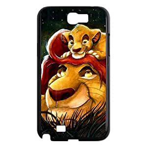 Phone Accessory for Samsung Galaxy Note 2 N7100 Phone Case The Lion King T587ML