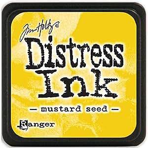 Brand New Tim Holtz Distress Mini Ink Pads-Mustard Seed Brand New