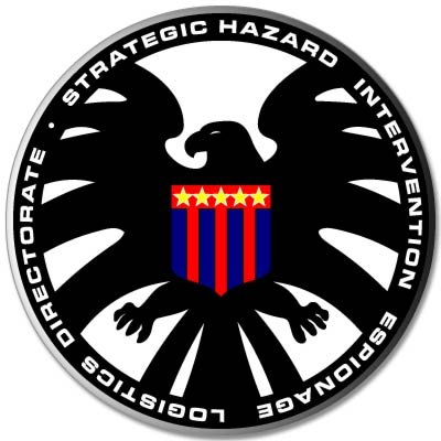 S.H.I.E.L.D law enforcement Nick Fury Vynil Car Sticker Decal - Select Size