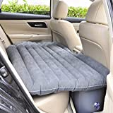 Shag Car Travel Air Bed PVC Inflatable Mattress Pillow Camping Universal SUV Back Seat Couch With Repair bag Compression Sacks