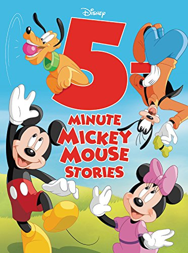 5-Minute Mickey Mouse Stories (5-Minute Stories) by Disney Press (Image #1)