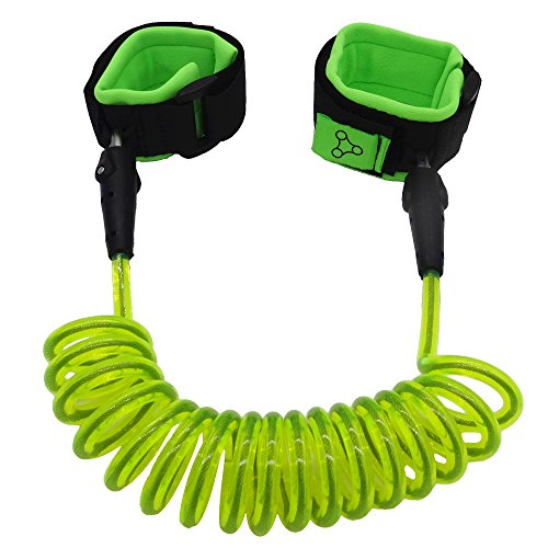 HITROVER Wrist Leash for Child/Kid/Toddler  Safety Harness/Strap/Link/Tether for walking Kids  Green